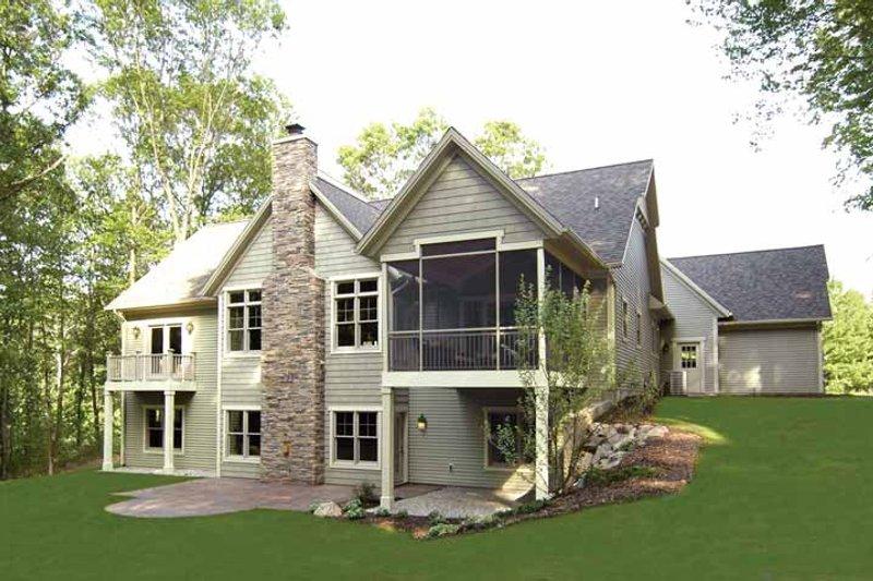 Craftsman Exterior - Other Elevation Plan #928-91 - Houseplans.com