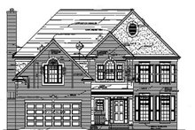 Colonial Exterior - Front Elevation Plan #453-341