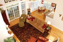 Country Interior - Family Room Plan #929-470