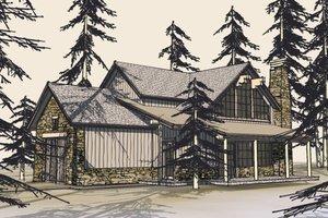 Craftsman Exterior - Front Elevation Plan #899-5