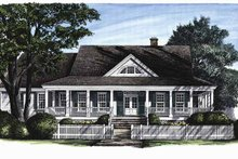 Architectural House Design - Classical Exterior - Front Elevation Plan #137-297