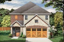 House Plan Design - Country Exterior - Front Elevation Plan #84-653