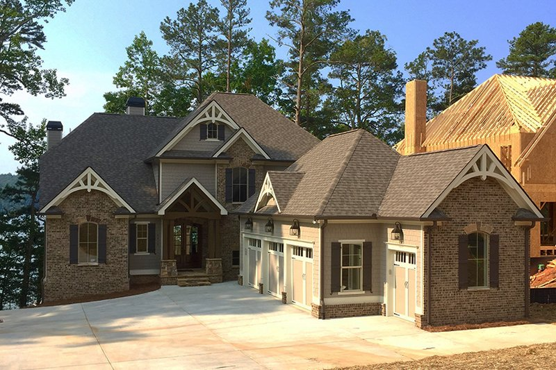 Architectural House Design - Country Exterior - Front Elevation Plan #437-80