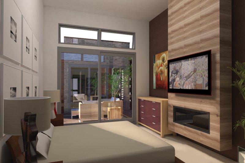 Contemporary Interior - Master Bedroom Plan #484-12 - Houseplans.com
