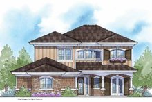 House Design - Country Exterior - Front Elevation Plan #938-17