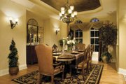 European Style House Plan - 4 Beds 4.5 Baths 5196 Sq/Ft Plan #930-361 Interior - Dining Room