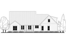 House Design - Farmhouse Exterior - Rear Elevation Plan #430-164