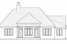 Architectural House Design - European Exterior - Rear Elevation Plan #20-2251