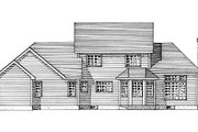 Country Style House Plan - 5 Beds 2.5 Baths 2459 Sq/Ft Plan #316-103 Exterior - Rear Elevation
