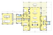 Farmhouse Style House Plan - 3 Beds 2.5 Baths 3754 Sq/Ft Plan #888-1 Floor Plan - Main Floor