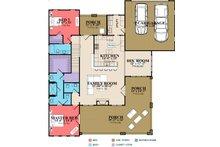 Craftsman Floor Plan - Main Floor Plan Plan #63-429