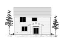 House Plan Design - Craftsman Exterior - Rear Elevation Plan #53-662