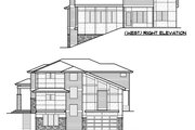 European Style House Plan - 5 Beds 4.5 Baths 4417 Sq/Ft Plan #1066-74 Exterior - Other Elevation