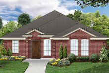 Home Plan Design - Traditional Exterior - Front Elevation Plan #84-563