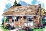 Cottage Style House Plan - 0 Beds 1 Baths 300 Sq/Ft Plan #18-4522 Exterior - Other Elevation