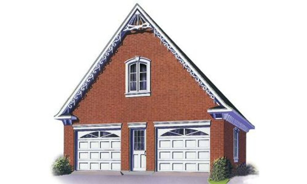 Traditional style house plan 0 beds 0 baths 1400 sq ft for Cost to build a 576 sq ft house