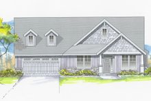 House Plan Design - Craftsman Exterior - Front Elevation Plan #53-658