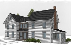 House Plan Design - Farmhouse Exterior - Front Elevation Plan #485-4