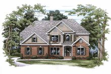 House Plan Design - Traditional Exterior - Front Elevation Plan #927-749