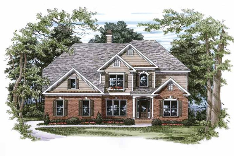 Home Plan - Traditional Exterior - Front Elevation Plan #927-749