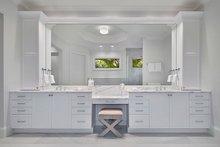 Home Plan - Mediterranean Interior - Master Bathroom Plan #1017-159