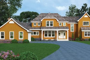 House Design - Craftsman Exterior - Front Elevation Plan #314-294