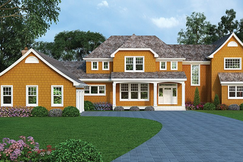 Craftsman Exterior - Front Elevation Plan #314-294