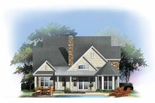 House Plan Design - Craftsman Exterior - Rear Elevation Plan #929-844