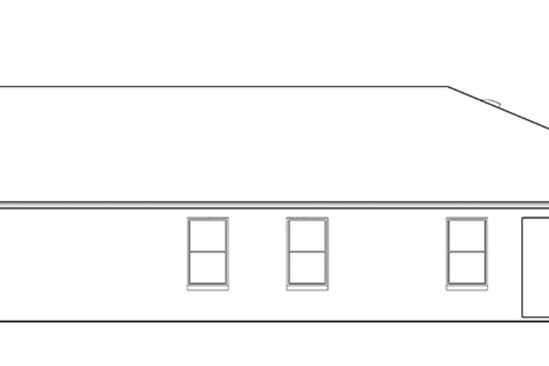 Craftsman Exterior - Other Elevation Plan #1058-71 - Houseplans.com