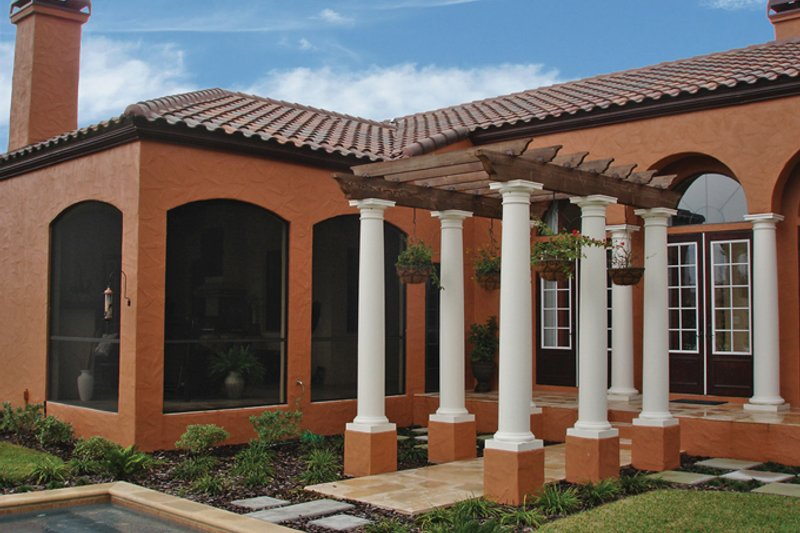 Mediterranean Exterior - Other Elevation Plan #1058-18 - Houseplans.com