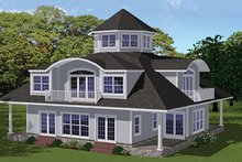 Contemporary Exterior - Front Elevation Plan #1061-7