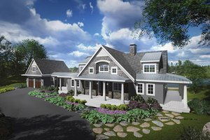 Dream House Plan - Traditional Exterior - Front Elevation Plan #928-262