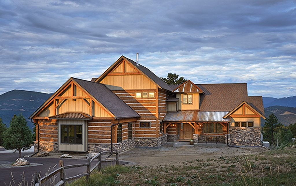 Craftsman Style House Plan 4 Beds 4 5 Baths 4960 Sq Ft