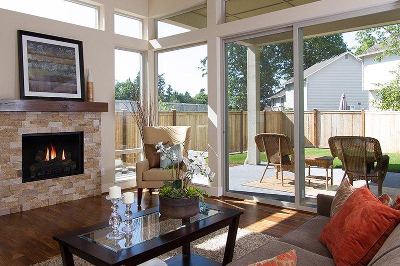 Contemporary Interior - Family Room Plan #132-564 - Houseplans.com