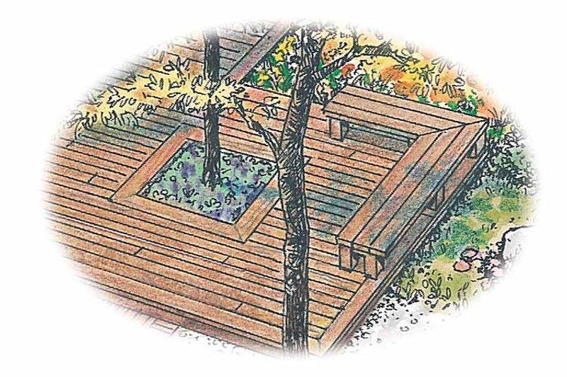 Exterior - Front Elevation Plan #1040-96 - Houseplans.com