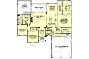 Farmhouse Style House Plan - 3 Beds 2.5 Baths 2316 Sq/Ft Plan #1067-1 Floor Plan - Main Floor
