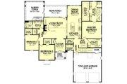 Farmhouse Style House Plan - 3 Beds 2.5 Baths 2316 Sq/Ft Plan #1067-1 Floor Plan - Main Floor Plan