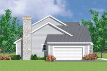 House Plan Design - Colonial Exterior - Other Elevation Plan #72-1072