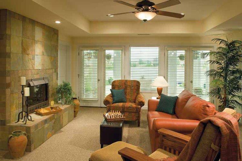 Craftsman Interior - Family Room Plan #930-356 - Houseplans.com