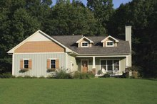 Home Plan - Craftsman Exterior - Front Elevation Plan #928-118