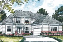 Traditional Exterior - Front Elevation Plan #453-158