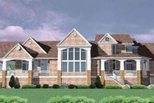Traditional Exterior - Rear Elevation Plan #509-401
