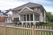 Colonial Style House Plan - 5 Beds 3.5 Baths 3355 Sq/Ft Plan #928-220 Exterior - Rear Elevation