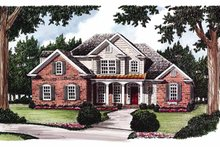 Home Plan - Country Exterior - Front Elevation Plan #927-613