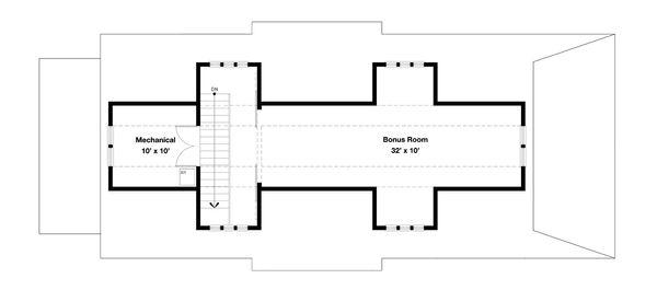 Beach Style House Plan - 4 Beds 3 Baths 2878 Sq/Ft Plan #443-18 Floor Plan - Other Floor Plan