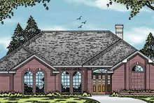 House Plan Design - European Exterior - Front Elevation Plan #42-578