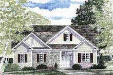 Craftsman Exterior - Front Elevation Plan #316-263