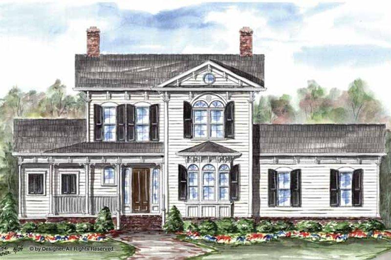 Victorian Exterior - Front Elevation Plan #54-325 - Houseplans.com