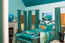 Craftsman Interior - Master Bedroom Plan #929-422