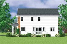 House Plan Design - Country Exterior - Other Elevation Plan #72-1111